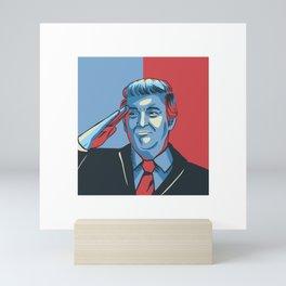 United States Salute Mini Art Print