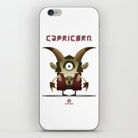 capricorn iPhone & iPod Skins featuring CAPRICORN by Angelo Cerantola