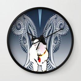 HereKittyKitty Wall Clock