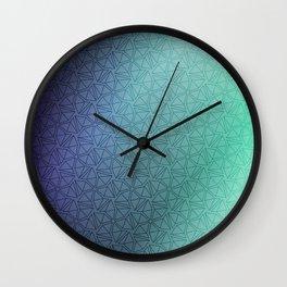 Gradient Web Wall Clock