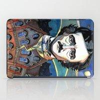 edgar allan poe iPad Cases featuring Edgar Allan Poe by Emma Ridgway