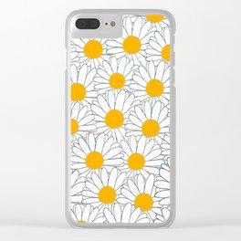Marguerite-103 Clear iPhone Case