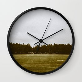 The Earthly Mundane Wall Clock