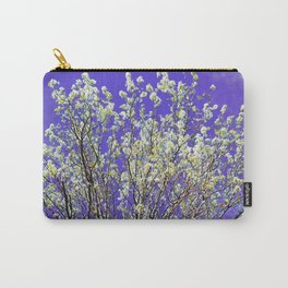 Ornamental Pear Tree Blossom Carry-All Pouch
