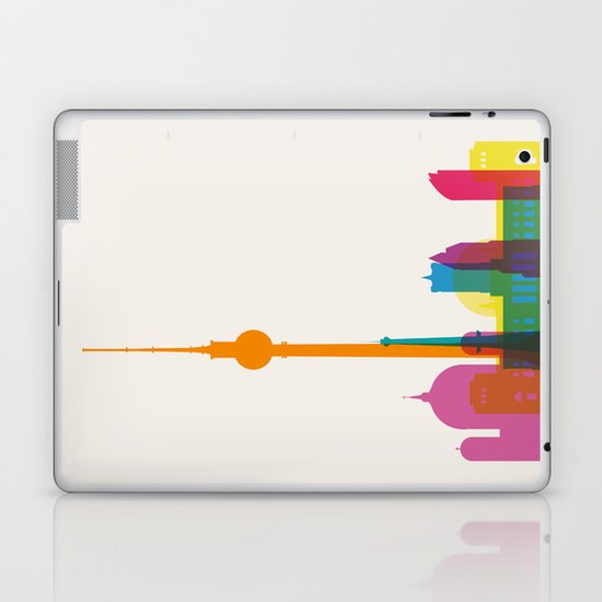 Shapes of Berlin accurate to scale Laptop & iPad Skin