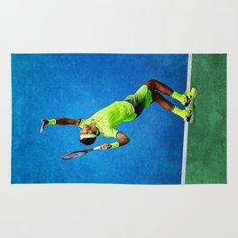 Del Potro Tennis Serve Rug