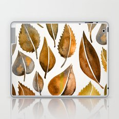 Rusty Leaves Laptop & iPad Skin