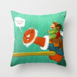 Im such a Dragon Throw Pillow