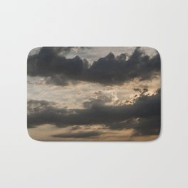 Sky, Clouds and Sunlight Bath Mat