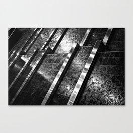 Indoor Water Feature Canvas Print