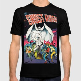 The Ghost Rider Vintage Golden Age Comic Art T-shirt