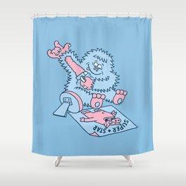I'm a superstar Shower Curtain