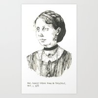 Mrs. Robert George Dunn of Chillicothe, Ohio Art Print