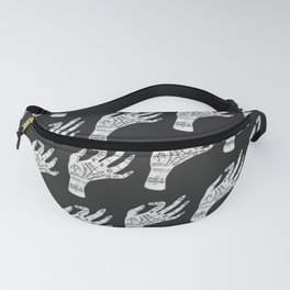 Palm Reading Fanny Pack