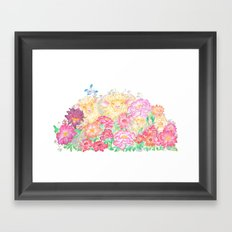 Happy New Year of the Sheep! Framed Art Print