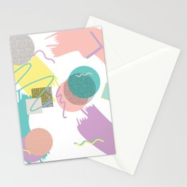 Funny 90th Retro Stationery Cards