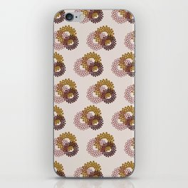 Flower Power surface pattern iPhone Skin
