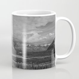 Matanuska Glacier Mono Coffee Mug