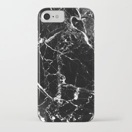 Marble Textured Print iPhone Case