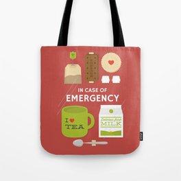 Emergency Tea Tote Bag