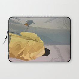 Jurassic Park - Dennis and the Dilophosaurus Laptop Sleeve