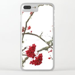 Wintry Day  Clear iPhone Case