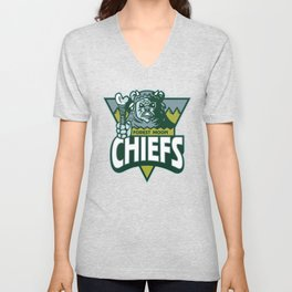 Forest Moon Chiefs - Green Unisex V-Neck