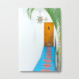 Sayulita Heart Walkway Metal Print