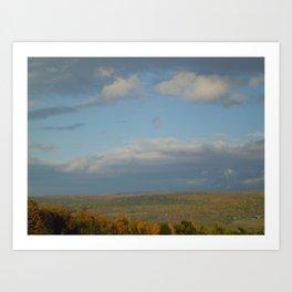 Finger Lakes Palette Art Print