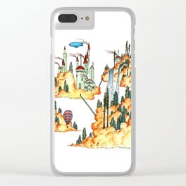 Cloud Forest Clear iPhone Case