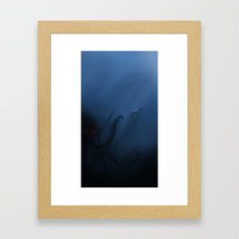 A Whale of A Discovery Framed Art Print