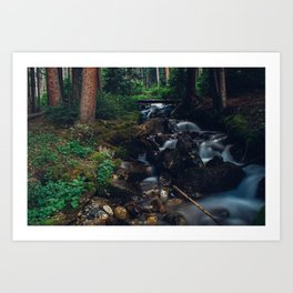 Love Is The River of Life in the World Art Print