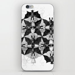 Angels and Devils iPhone Skin