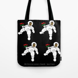 2014 RayGun81 Space Program (American Poverty + Fray and Tay) Tote Bag
