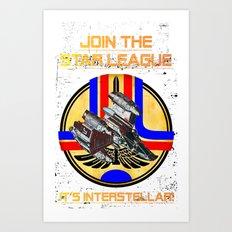Join the Star League! Art Print