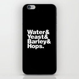 The Fab 4 - Beer iPhone Skin