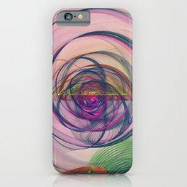Fractal Art Circus Nebula iPhone Case
