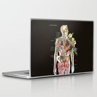 skeleton Laptop & iPad Skins featuring Skeleton by Ben Giles