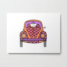 Cute Ride Metal Print
