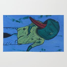 Froggy Suicide Rug