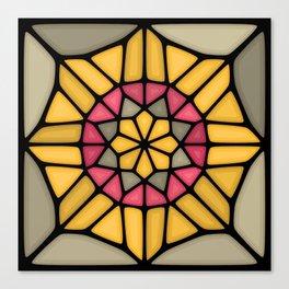 Gold medal Voronoi Canvas Print