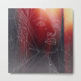 Red (Nyota Uhura AOS Fanart) Metal Print