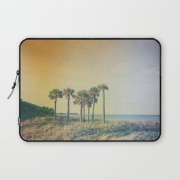 Seven Palm Trees Summer Vibes Laptop Sleeve