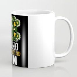 Casino Gambling Roulette Poker Risk Coffee Mug
