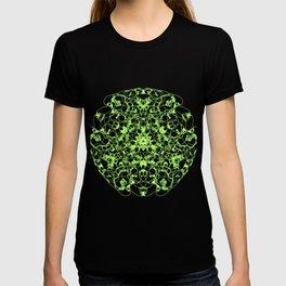Mandala Trinity green Emerald Peridot T-shirt
