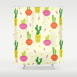 Cactus Bright Shower Curtain