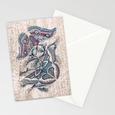 Saturnia butterflies Stationery Cards