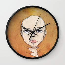 Into the Fire Wall Clock