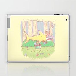The Easter Bunny Shark Laptop & iPad Skin