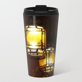 Moroccan Lamps Metal Travel Mug